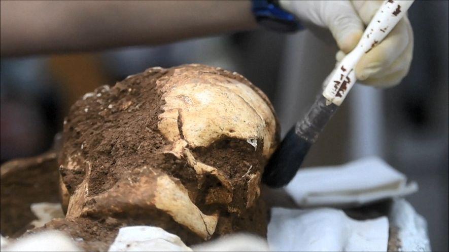 Menschliche Überreste geben Hinweise auf amerikanische Ureinwohner