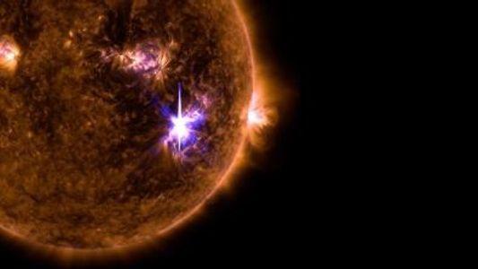 Aufnahmen der größten Sonneneruption seit 10 Jahren