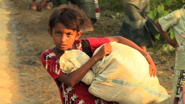 Die Flüchtlingskrise der verfolgten Rohingya
