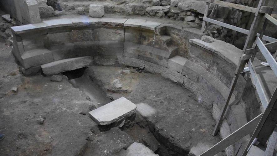Römisches Auditorium unter Klagemauer entdeckt