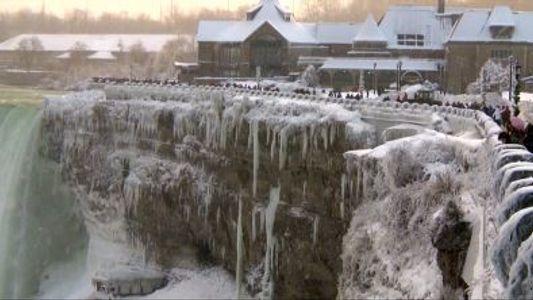 Darum frieren die Niagarafälle nicht zu