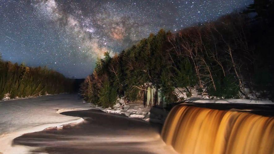 Timelapse: Der Weg der Milchstraße