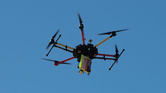 Schwimmer durch Drohne gerettet