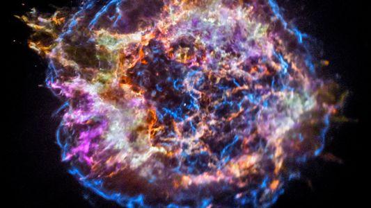 Gewaltige Supernova blies Bausteine des Lebens ins All