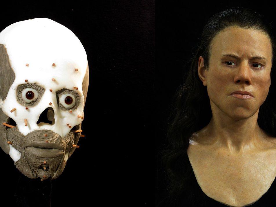 Gesicht eines 9.000 Jahre alten Teenagers rekonstruiert