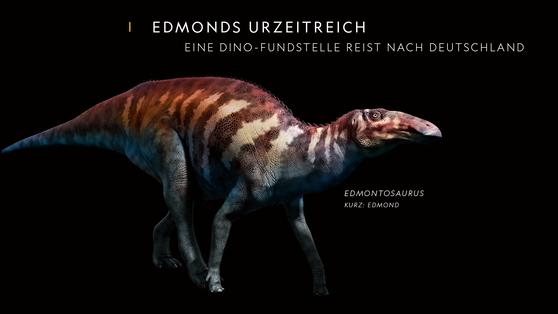 Edmonds Urzeitreich: Eine Dino-Fundstelle reist nach Deutschland