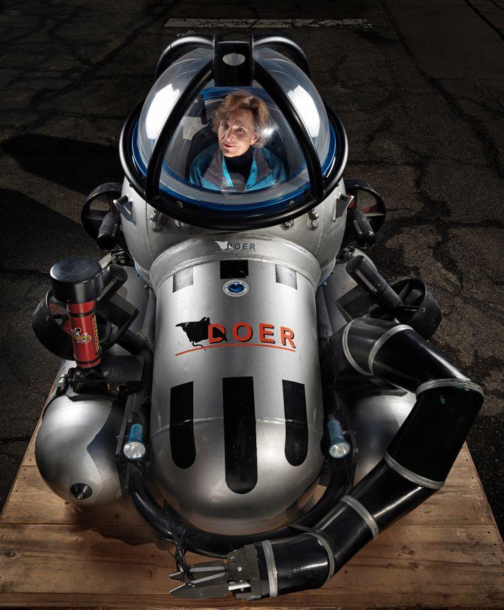 Ozeanografin Sylvia Earle