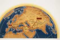 Marco Polos Reise nach China.