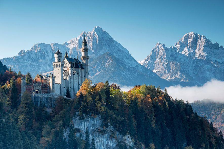 Dieses riesige Märchenschloss wurde für eine einzige Person erbaut