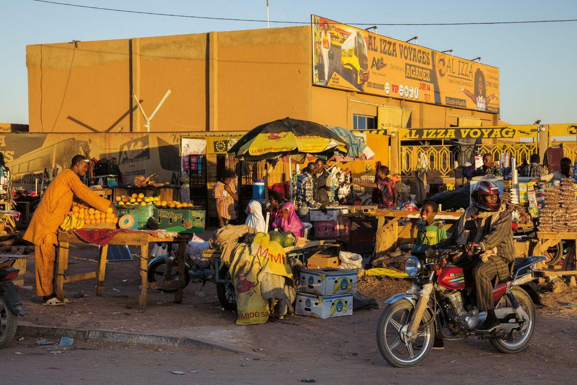 Busbahnhof in Agadez