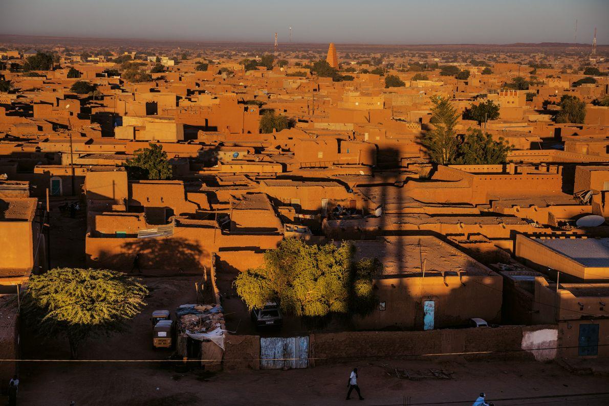 historische Zentrum von Agadez