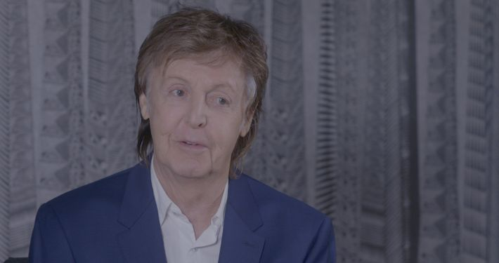 Interview mit Paul McCartney