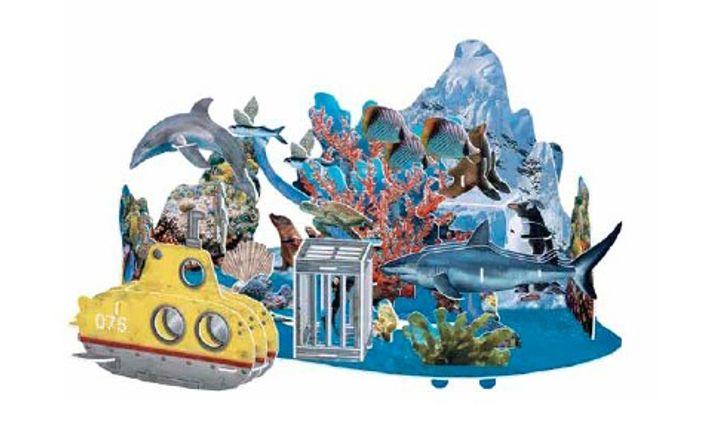 Von tropischen Riffen zu eisigen Gewässern, vom großen weißen Hai zu den Kaiserpinguinen der Antarktis: Kleine ...