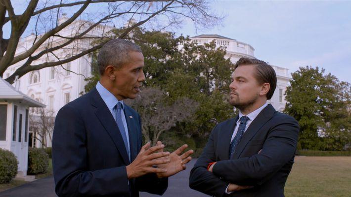 Leonardo DiCaprio spricht mit Barack Obama über das Pariser Klimaschutzabkommen und die künftigen Auswirkungen des Klimawandels.