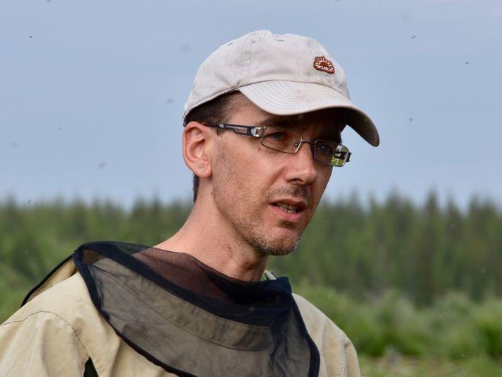 Mathias Göckede vom Max-Planck-Institut für Biogeochemie