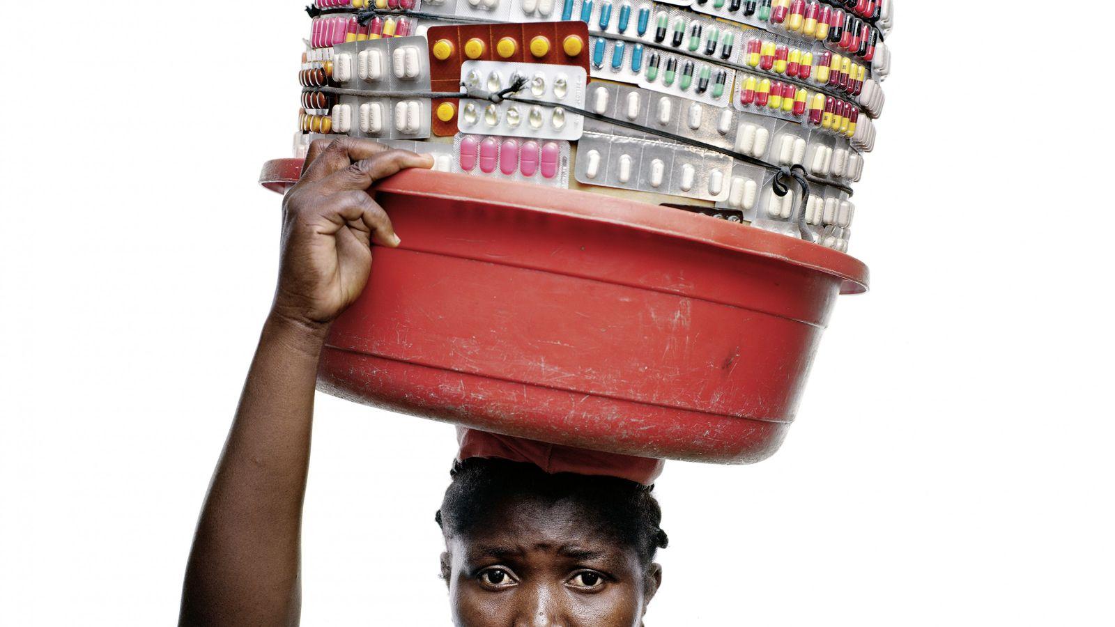 Claudine Jourdain in Port-au-Prince