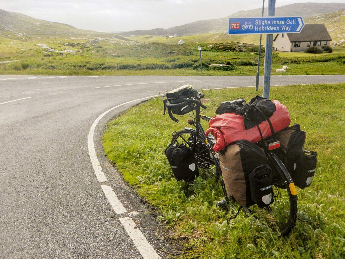 Rad Schild Hebridean Way