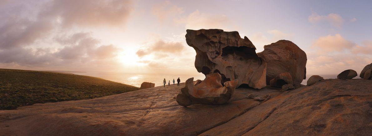 Remarkable Rocks auf Kangaroo Island