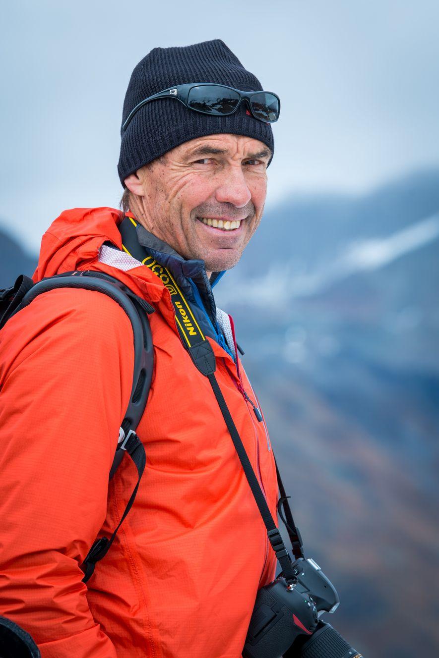 Der Bergsteiger und Fotograf Robert Bösch.
