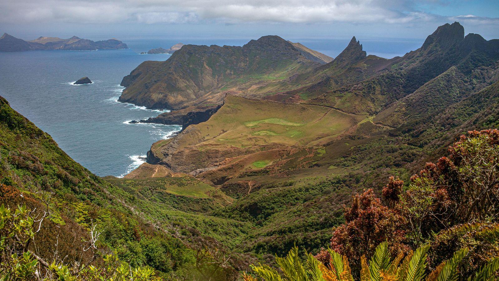 Die Robinson-Crusoe-Insel