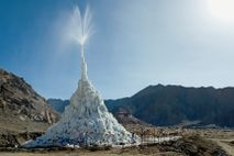 Eis-Stupa