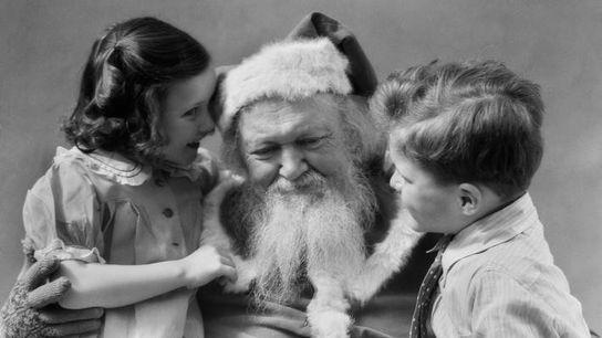 Der Weihnachtsmann war nicht immer ein beleibter älterer Mann mit Brille.
