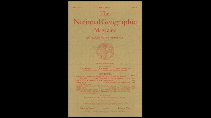 Alle Cover aus 130 Jahren National Geographic in unter 2 Minuten
