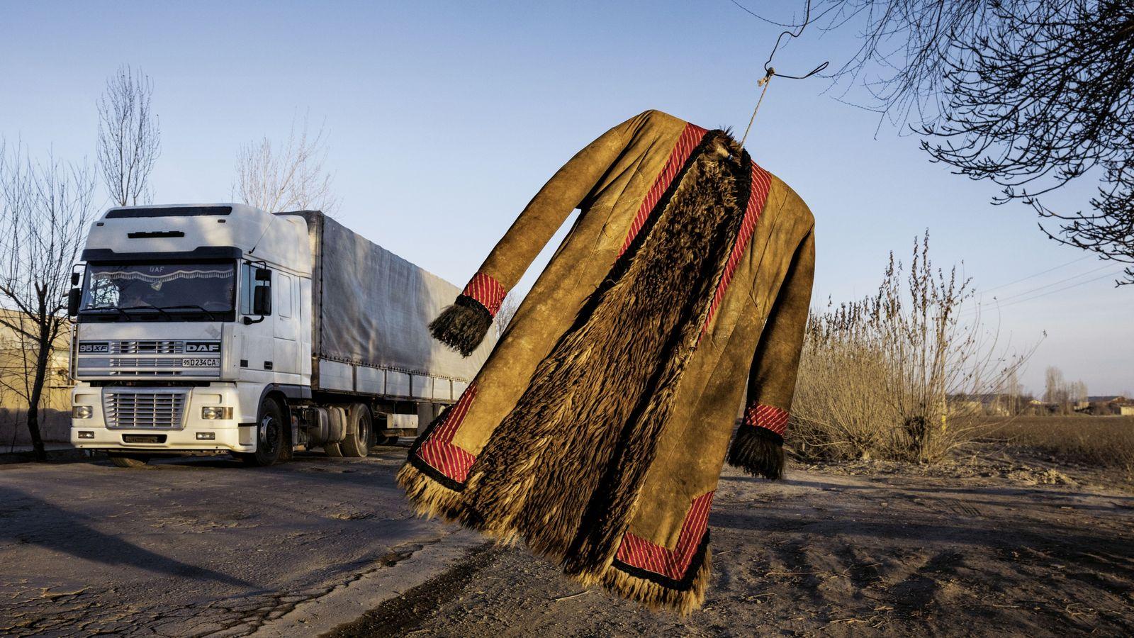 Fernstraße in Usbekistan