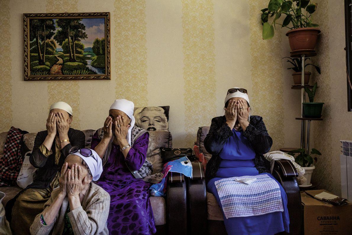 Hochzeitsritual in Kasachstan