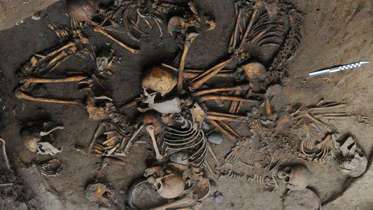 Skelettkreis in präkolumbianischer Grabstätte entdeckt