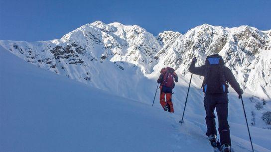 Viel Berg, wenig Mensch: Das macht eine Skitour aus.