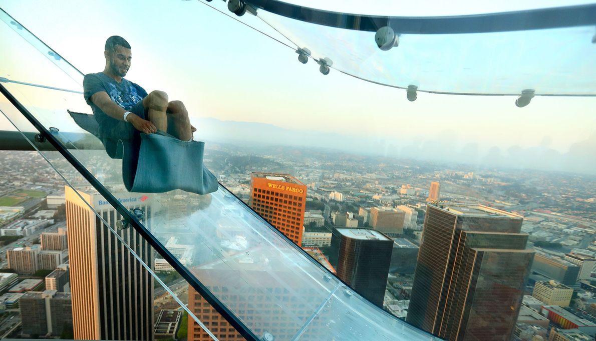 SkySlide, Los Angeles, California
