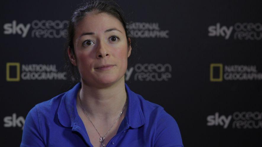 Interview mit den Sky Ocean Rescue-Wissenschaftlerinnen - ANNETTE FAYET