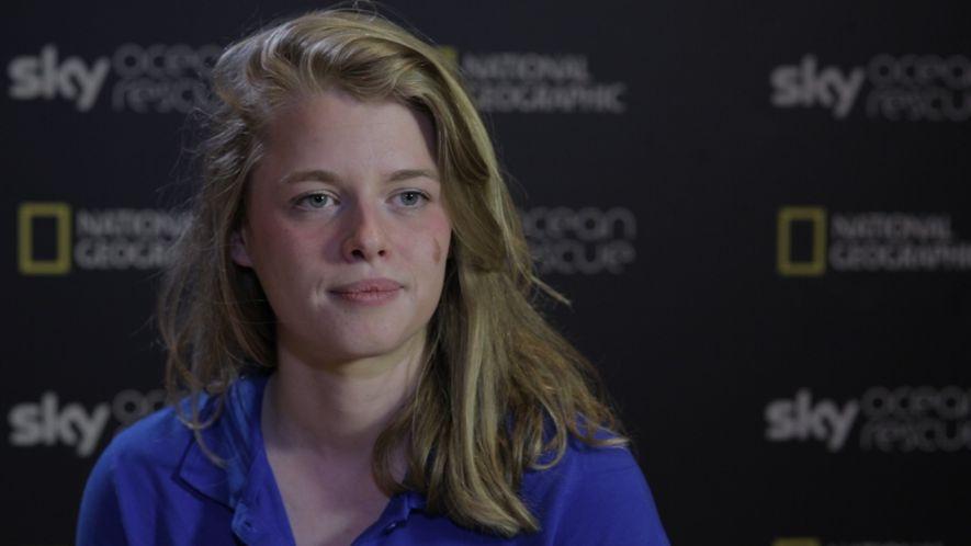 Interview mit den Sky Ocean Rescue-Wissenschaftlerinnen - IMOGEN NAPPER