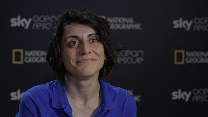 Interview mit den Sky Ocean Rescue-Wissenschaftlerinnen - MARTINA CAPRIOTTI