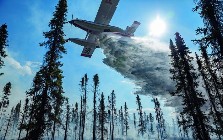 Smokejumpers über Alaska
