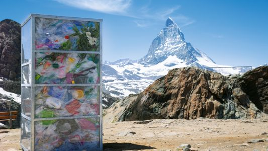 Das Matterhorn – vollgestopft mit Plastik