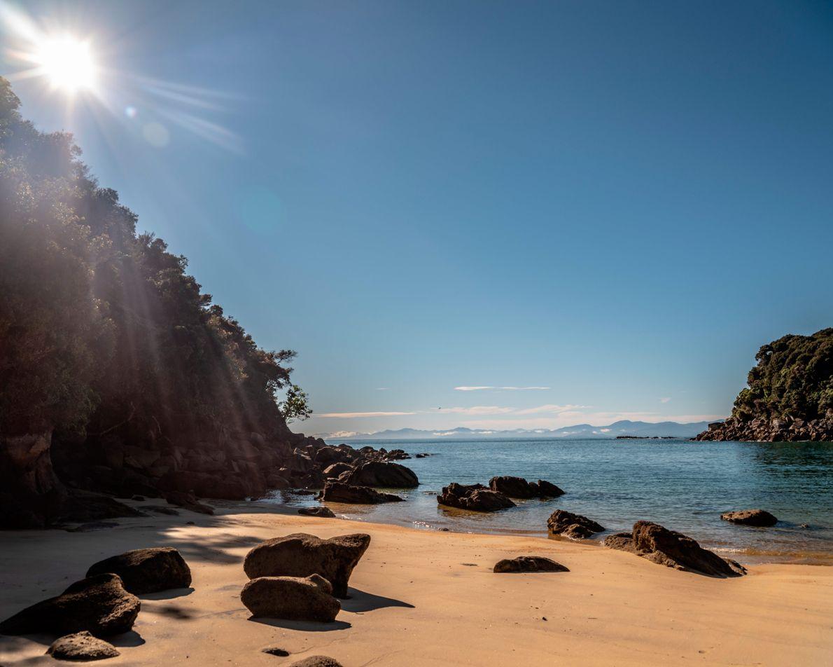 Die Region Nelson-Tasman an der Nordspitze der Südinsel zählt zu den sonnigsten Orten Neuseelands. Pro Jahr ...