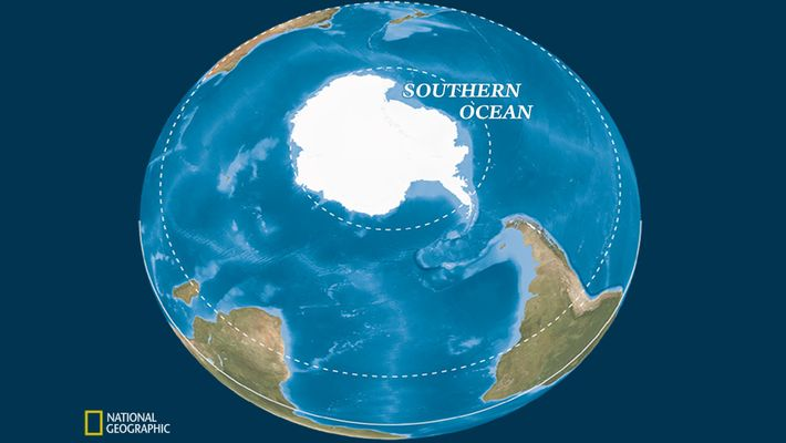 Das globale Förderband definiert den Südlichen Ozean