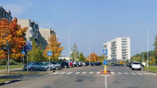 Straße in der Stadt