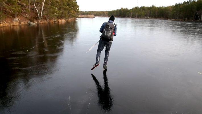 Dünnes Eis erzeugt seltsam fremdartige Klänge