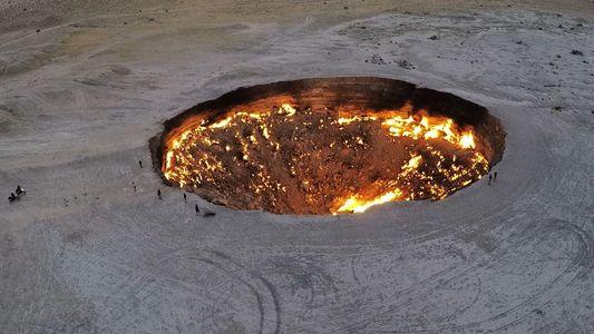 Turkmenistans Tor zur Hölle