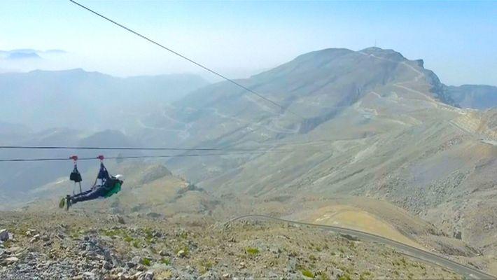 In den VAE hängt die längste Zipline der Welt
