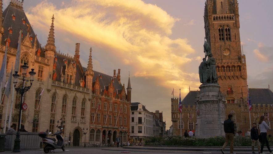 Brügge: Kunst und Architektur des Mittelalters in der Moderne