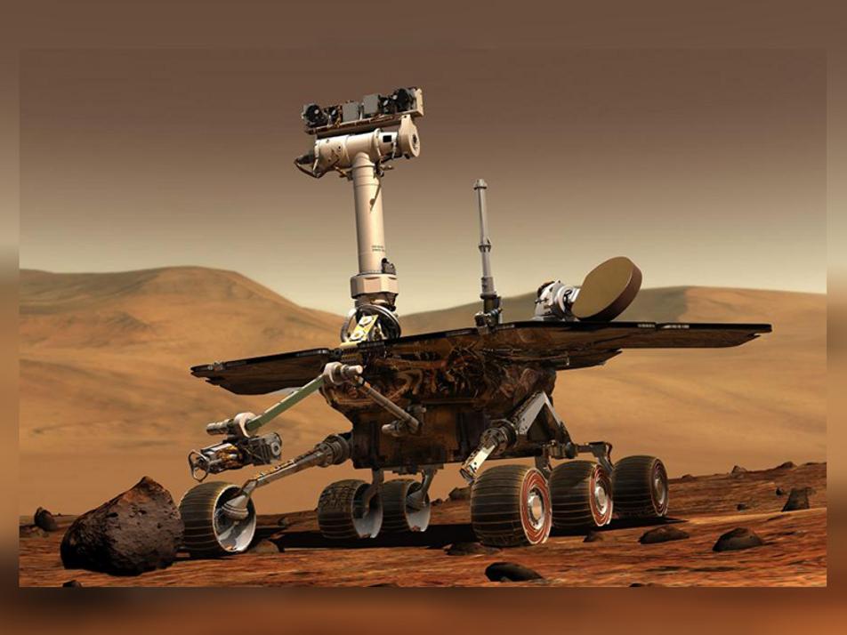 Gewaltiger Staubsturm bedroht Mars-Rover
