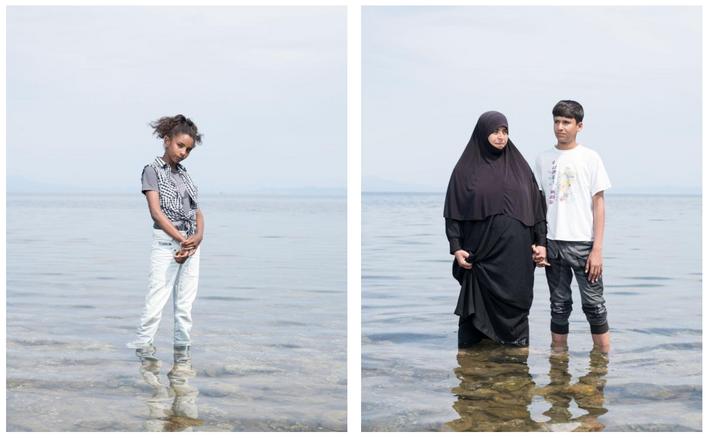 Links:  Die zwölfjährige Riham Saad wurde in Damaskus geboren und wuchs dort auf. Jetzt leben sie ...