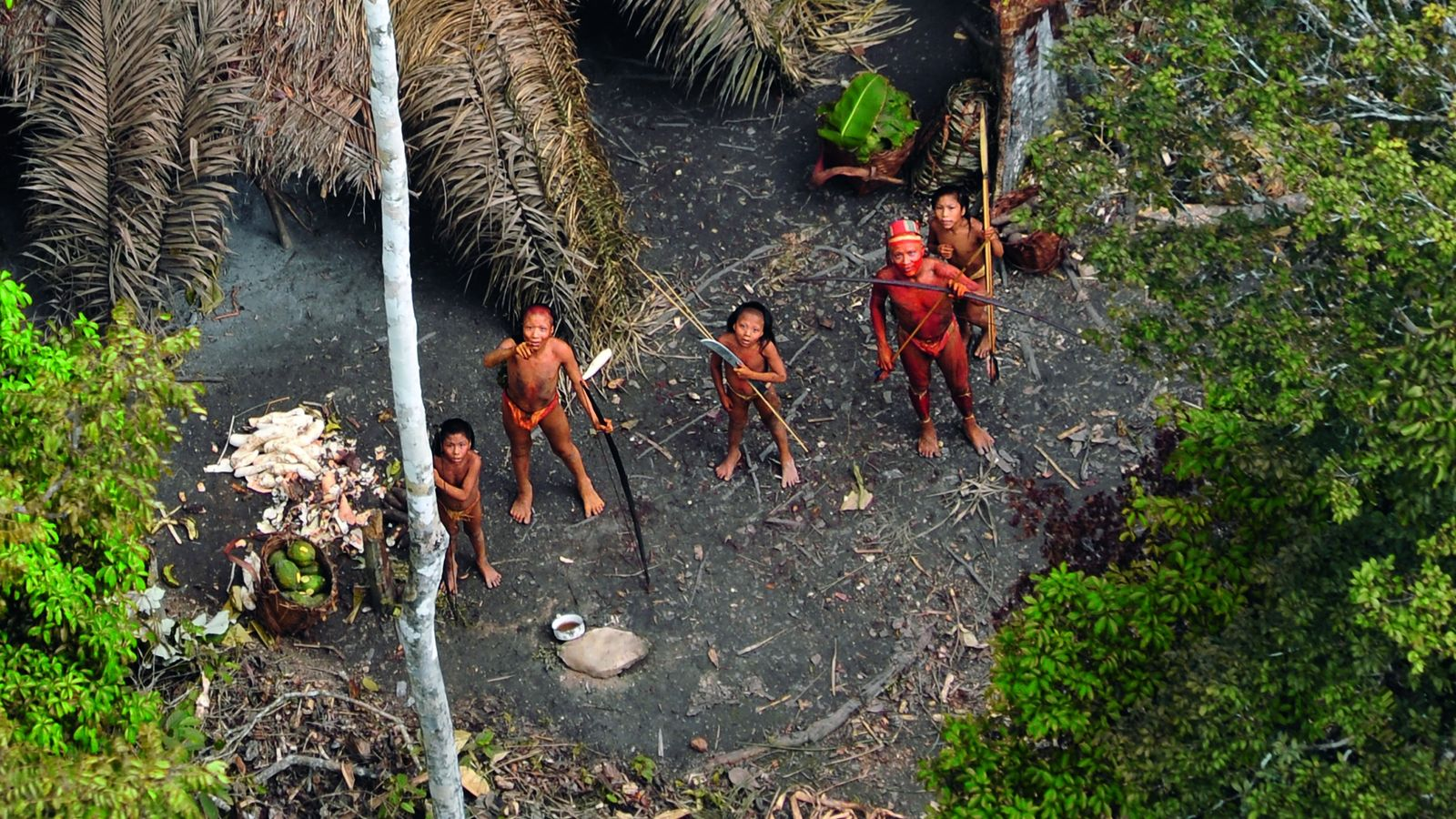 uncontacted people