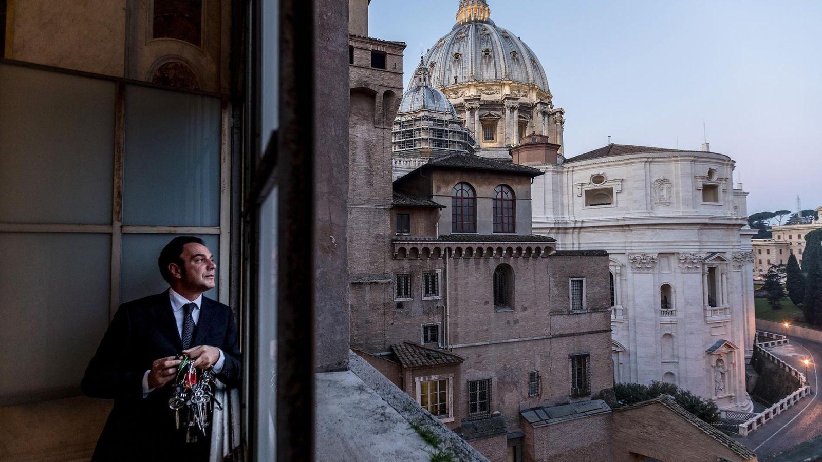 """""""Das eigentliche Privileg ist es, jeden Tag hier durchzulaufen und etwas Neues zu lernen"""", sagt Gianni ..."""