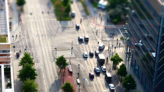 Straßenverkehr in Berlin