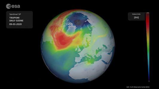 Ozonzerstörung über der Arktis